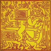 Keith Haring, Untitled (May 31, 1984), 1984
