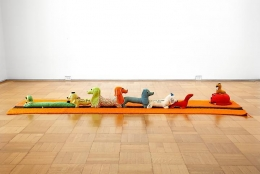 Mike Kelley, Arena #10 (Dogs), 1990