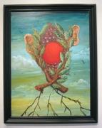 George Condo, Fruit Man, 1983