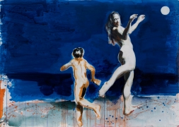 Eric Fischl, I Dreamt I Was Dancing With The Moon