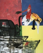 Martin Kippenberger Untitled (Nr. 91/12) from the Krieg / Böse series, 1991