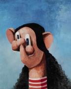 George Condo  The K-Mart Girl, 2001