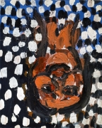 Georg Baselitz, 6 Beautiful, 4 Ugly Portraits: Beautiful Portrait 2, 1987-1988