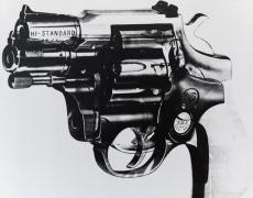 Andy Warhol Gun, 1981-82