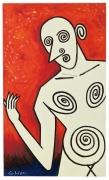 Alexander Calder, Lady Composed of Spirals