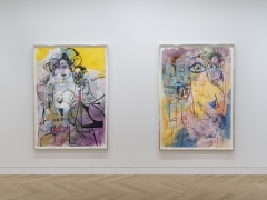 Installation View George Condo 2019 Works on Paper