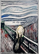 Andy Warhol The Scream (After Edvard Munch), 1984
