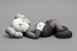 KAWS HOLIDAY (3) 2020 aluminum, paint
