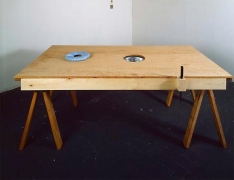 Mike Kelley Torture Table, 1992