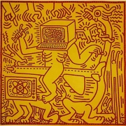 Keith Haring, Untitled (May 31,1984),