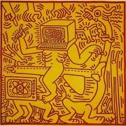 Keith Haring, Untitled (May 31,1984),