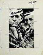 Barbara Kruger, Untitled (Money can't buy me), 1983
