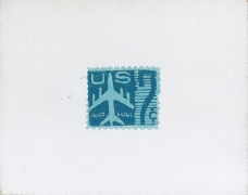 Andy Warhol, Blue Airmail Stamp