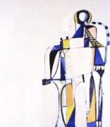 George Condo, Multi Colored Figure 1, 1993
