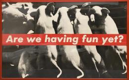 Barbara Kruger Are We Having Fun Yet?, 1987