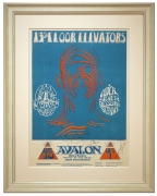 FD-28 Zebraman. 1966 poster for 13th Floor Elevators by Stanley Mouse and Alton Kelley. Quicksilver Messenger Service 1966 poster at Avalon.