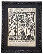 FD-12 The Quick and The Dead rock poster Avalon Ballroom June 10-11 1966 by Wes Wilson