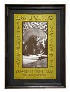 BG-237 Grateful Dead poster with NRPS, the New Riders of the Purple Sage by David Singer June 4-7, 1970 at the Fillmore West