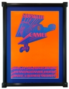 NR-5 Original vintage poster for Sopwith Camel at the Matrix in San Francisco by Victor Moscoso - this was Neon Rose #5