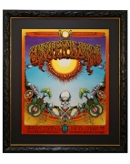 AOR 2.24  The Original 1969 Aoxomoxoa Grateful Dead concert poster by Rick Griffin and from the Avalon Ballroom January 24-26, 1969