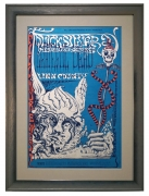 BG-144 Grateful Dead Poster November 7,8, 9 1968,  also featuring Quicksilver Messenger Service and Linn County