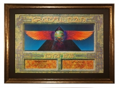 AOR 4.239 Original Grateful Dead Egypt poster by Alton Kelley 1978