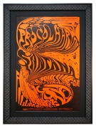 BG-143 Procol Harum Poster with Santana, Oct 31-Nov 2, 1968 at the Fillmore West, a Fillmore poster by Lee Conklin