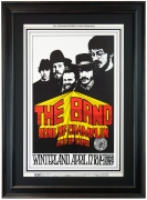 BG-169 poster for The Band, Sons of Champlin and Ace of Cups at Winterland 1969