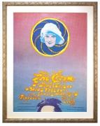 AOR 3.73 Poster for The Cream at the Shrine Los Angeles by John Van Hamersveld. 1968 Cream poster
