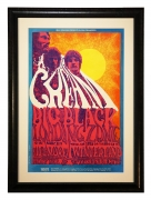 BG-109 Cream Poster 1968 by Lee Conklin at Fillmore and Winterland also featuring Big Black and Loading Zone