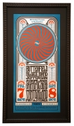 BG-30  Early Fillmore poster by Wes Wilson. 1966 Grateful Dead concert poster. Jefferson Airplane and Butterfield Blues Band