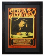 FD-103 1968 poster called Heavy by Stanley Mouse and Alton Kelley featuring Country Joe & The Fish and The Charlatans at Avalon Ballroom January 26, 1968