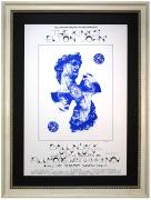 BG-256 Early Elton John poster from 1970. David Singer Kinks poster at Fillmore West November 12-15, 1970