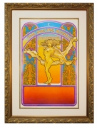 1969 Rolling Stones Tour Blank Concert Poster by David Byrd