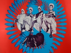 Hot Tuna at Pepperland poster September 18-19, 1970 detail