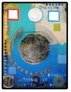 """Elisa Lejuez   Nothing is forever - Mixed Media - 35 x 47"""""""