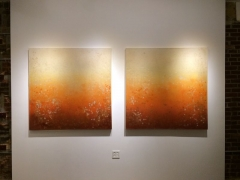 Tinted light (Diptych)