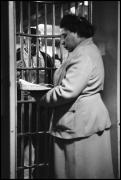 Woman Reads Bible to Prisoner, Chicago, Illinois, 1953, Gelatin Silver Print