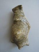 Chris Garofalo.dyfrffrwyth,2020. Glazed porcelain, 5 x 2.5 x 2.5 inches.