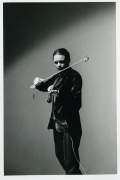 Laurie Anderson/Performance at Northwestern University/Tape Bow Violin Solo/1979