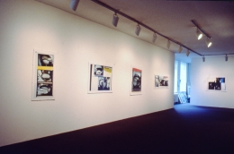 Installation view at Rhona Hoffman Gallery, Gordon Matta-Clark, Circus-The Caribbean Orange