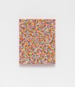 Andrew Masullo,5074, 2009. Oil on canvas, 10 x 8 x .75 inches.