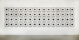 Thank you, Fog, 2009.Archival inkjet prints.4.5 x 4.5 inches, each image, 11.75 x 11.25 inches, framed,60 photographs total, Edition of 3.