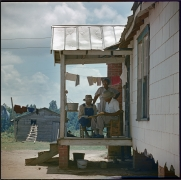 Untitled, Shady Grove, Alabama, 1956. Archival pigment print, 23.5 x 24 inches, print, 28 x 28 inches, paper, 33.25 x 33.25 inches, frame.