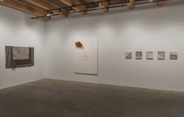 Installation view at Rhona Hoffman Gallery/Martha Tuttle/Cimarron/2017