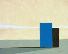 Wassef Boutros-Ghali.Untitled.Acrylic on canvas, 38 x 46 inches.