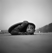 Gordon Parks.The Invisible Man, Harlem, 1952,1952. Gelatin silver print, 20 x 24 inches, edition 10/10.