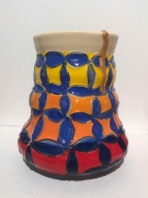 Untitled,2020, Glazed ceramic and gold resin