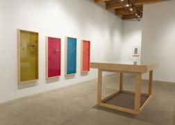 Installation view: The Breakup, Rhona Hoffman Gallery, January 11 –February 22, 2014.