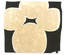 Judy Ledgerwood, Luna Luna, Oil on canvas (pearlescent oil stick), 2003
